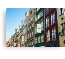 Buildings In Gdansk Canvas Print