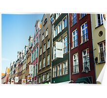 Buildings In Gdansk Poster