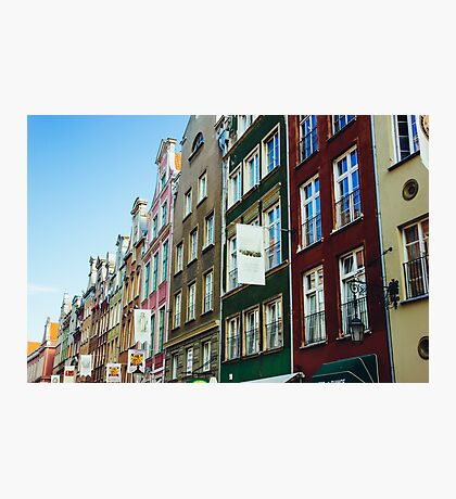 Buildings In Gdansk Photographic Print