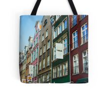 Buildings In Gdansk Tote Bag