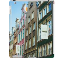 Buildings In Gdansk iPad Case/Skin