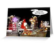 Confusion at the Head Shop Greeting Card