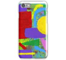 Old School Abstract Art iPhone Case/Skin