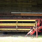 Old Farm Machinery  by WeeZie