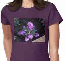 Sunlit Scented Stocks Womens Fitted T-Shirt