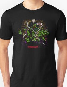 JASON TAKES THE TURTLES Unisex T-Shirt