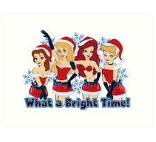 What a Bright Time! Art Print