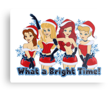 What a Bright Time! Metal Print