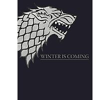 Winter is coming Photographic Print