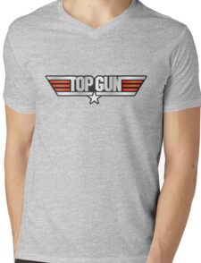 Top Gun Maverick Mens V-Neck T-Shirt