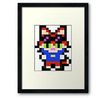 Pixel Blinx Framed Print