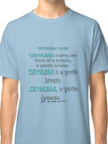 Cerulean Blue Classic T-Shirt