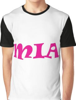 Mia (Pink) Graphic T-Shirt