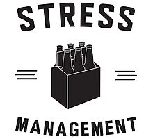 Beer. Stress Management Photographic Print