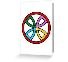 Cross Ornament  Greeting Card