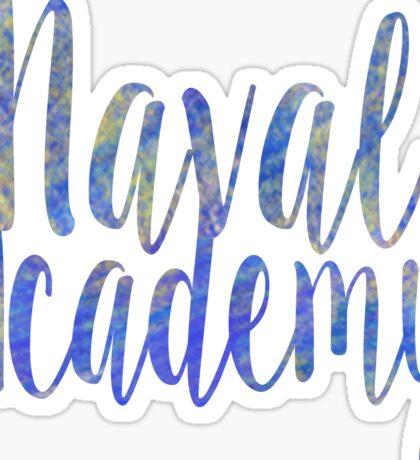 Naval Academy Sticker