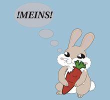 !MEINS! Kaninchen Kids Tee