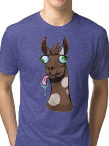 Goofy Llama Tri-blend T-Shirt