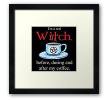 Life As A Witch Framed Print