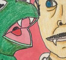 Kermit and Vincent Sticker
