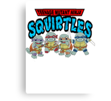 Teenage Mutant Ninja Squirtles Canvas Print