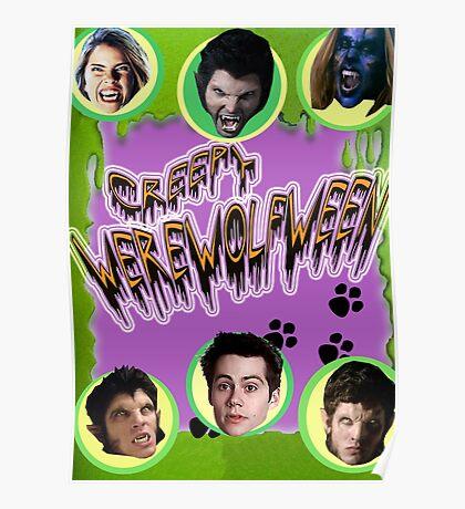 Happy Werewolfween Poster
