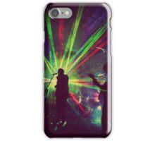 Laser Beams iPhone Case/Skin