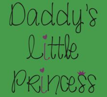 Daddy's Little Princess Kids Tee
