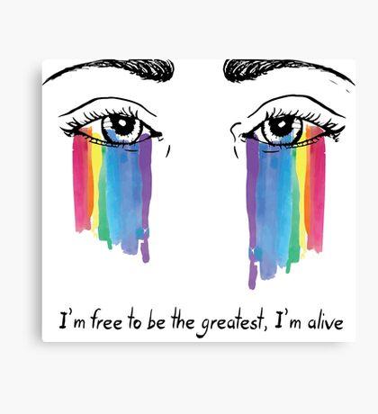 Sia the greatest Canvas Print