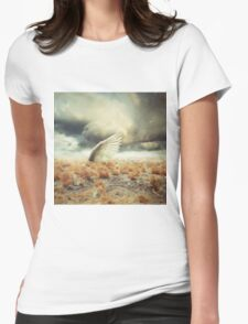 Land of the overgrown Womens Fitted T-Shirt