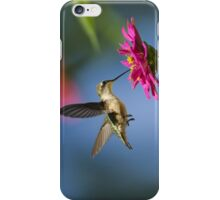 Art of Hummingbird Flight iPhone Case/Skin