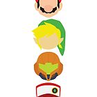 Nintendo Greats - Vertical by MoleFole