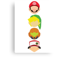 Nintendo Greats - Vertical Canvas Print