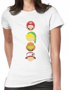 Nintendo Greats - Vertical Womens Fitted T-Shirt