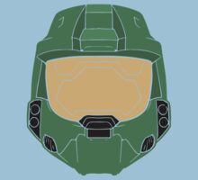 Stencilled Master Chief Kids Clothes