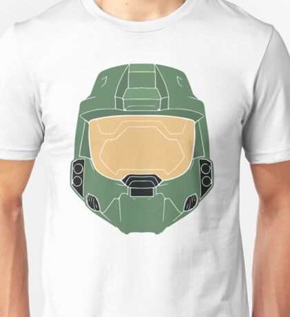 Stencilled Master Chief Unisex T-Shirt