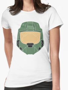 Stencilled Master Chief Womens Fitted T-Shirt