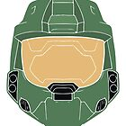 Stencilled Master Chief by MoleFole