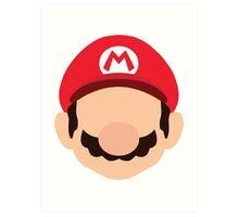 Mario - Nintendo Art Print