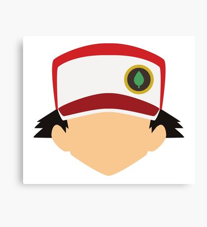 Pokemon Trainer Red Canvas Print