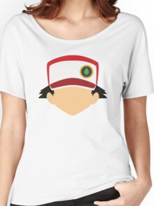 Pokemon Trainer Red Women's Relaxed Fit T-Shirt