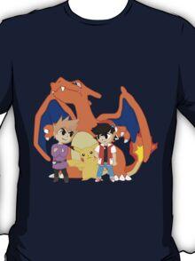 Toon Red Vs Blue T-Shirt
