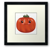 Shy Heirloom Tomato Framed Print