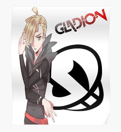 Pokémon Sun & Moon - Gladion Poster