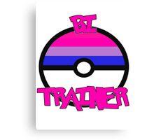 Pokemon - Bi Trainer Canvas Print