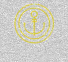 Anchor's Away (Yellow) Unisex T-Shirt