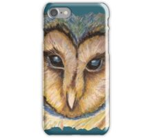 Majestic Owl Oil Pastel iPhone Case/Skin