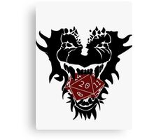 Dungeons and Dragons Canvas Print