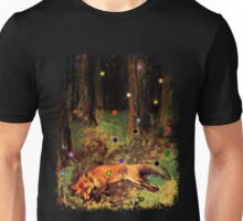 Degas' Dead fox in the forest by Ally Nix Unisex T-Shirt