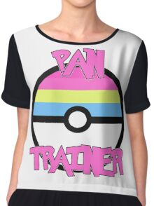 Pokemon - Pan Trainer Chiffon Top